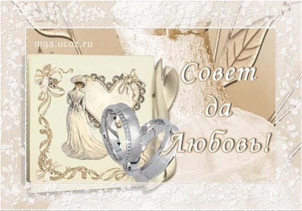 Надписями, открытки днем свадьбы тетерева