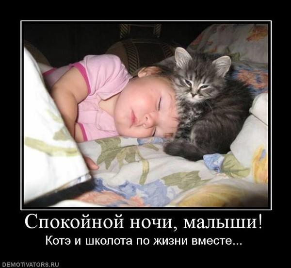Демотиваторы с детьми спят
