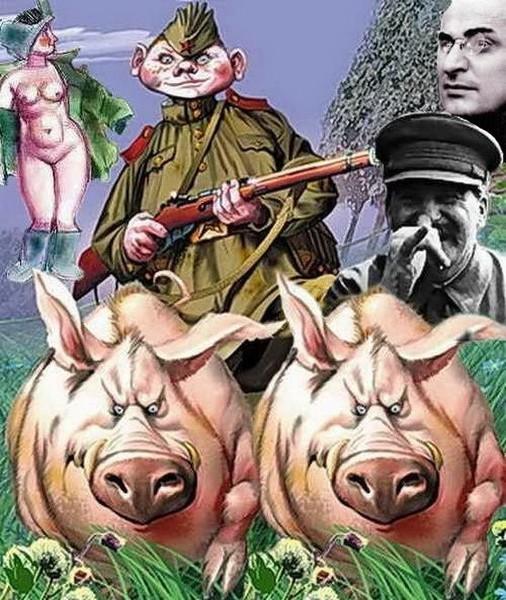 Постер солдат чонкин