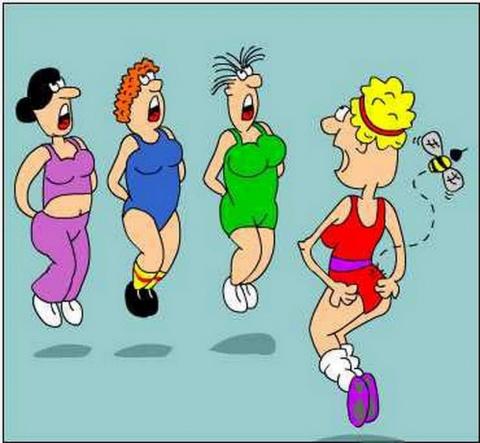 Картинки про фитнес прикольные