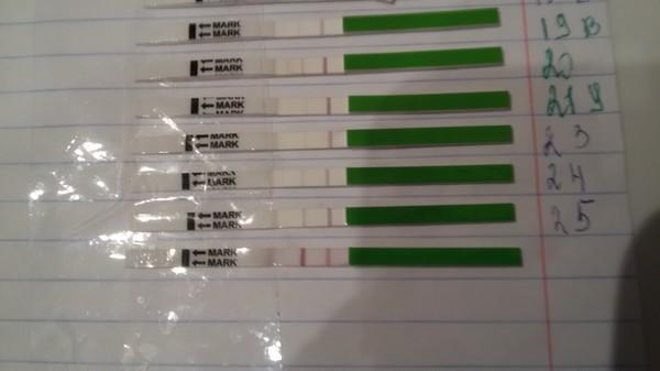 Тест на марихуану одна полоска светлая табак из марихуаны